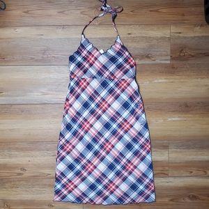 NEW Old Navy Girls Plaid Halter Dress Size 14